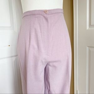 Vintage Lilac High Waisted Trousers